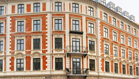 View on Building in Holbergsgade Street in Copenhagen Stock Photo