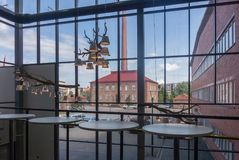 View from Innova business center, Jyvaskyla, Finland. View from building of Innova business center, Jyvaskyla, Finland Royalty Free Stock Photography