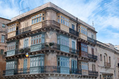 View of a building located in the city of Valletta in Malta Royalty Free Stock Photography