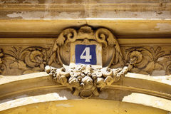 View of building number 4 Stock Photo