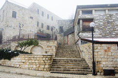 View of building in old Safed Royalty Free Stock Photo