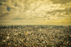 View of building in Tokyo city, Japan Royalty Free Stock Photo