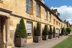 View of buildings in Chipping Campden, Cotswolds Royalty Free Stock Photos