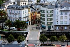 Luarca, Asturias, Spain Royalty Free Stock Photography
