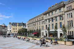 View of buildings in City Square, Dundee, Scotland Stock Photography