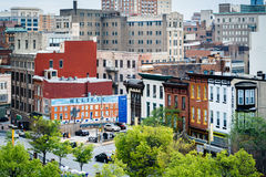 View of buildings in downtown Baltimore, Maryland. Royalty Free Stock Photo