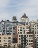 Buildings in Dumbo, Brooklyn, New York, USA. View of buildings in Dumbo, Brooklyn, New York, USA stock images