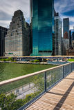 View of buildings in the Financial District from Pier 15, at Sou Stock Photos
