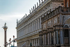 View with buildings of San Marco square in Venice, Italy Stock Images