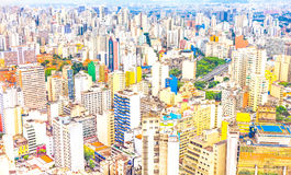 View of buildings in Sao Paulo Royalty Free Stock Images