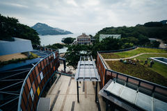 View of buildings at Stanley, on Hong Kong Island, Hong Kong. Royalty Free Stock Photography