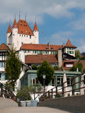 View on buildings of Thun Royalty Free Stock Photos