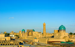 View of Bukhara Stock Photos