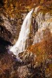 View on Buldrefossen waterfall, Gamle Strynefjellsvegen, Norway Stock Image