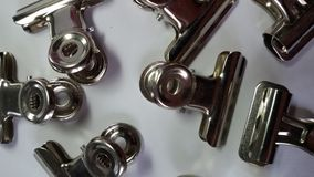 Bulldog clips Stock Images