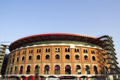View of Bullring Arenas. Barcelona, Spain Stock Photo