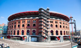 View of bullring Arenas de Barcelona Royalty Free Stock Image