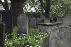 View of the Bunhill Fields Royalty Free Stock Photo