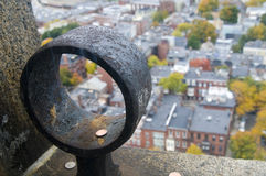 View from Bunker Hill Monument Royalty Free Stock Photography