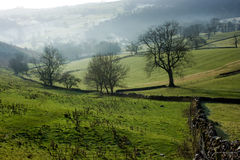 View from Bunster Hill, Ilam, Derbyshire Stock Photos