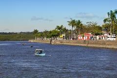View from Buranhem river Stock Photos