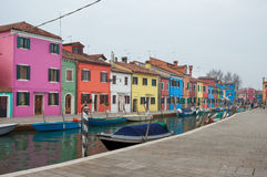 View from the Burano island, Venice Stock Photos