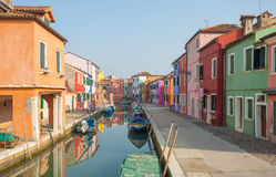 View from the Burano island, Venice Stock Photo
