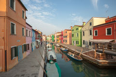 View from the Burano island, Venice Royalty Free Stock Image