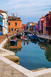 View of Burano, Italy 2 Royalty Free Stock Images