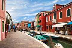 View Of Burano Royalty Free Stock Image