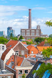 View from Burcht in Leiden, Netherlands Stock Image