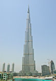 View on Burj Dubai, UAE. View on Burj Dubai, United Arab Emirates Royalty Free Stock Photo