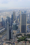 View from Burj Khalifa Royalty Free Stock Photos