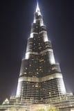 The view on Burj Khalifa Royalty Free Stock Photo