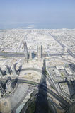 The view from burj khalifa Stock Photos