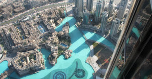 The view from Burj Khalifa Stock Images