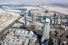 View from Burj khalifa tower 4 Royalty Free Stock Photography