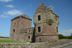 View of Burleigh Castle Stock Photography
