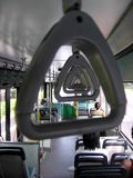 View of bus interior Royalty Free Stock Photo
