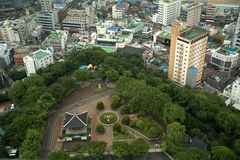 View from Busan Tower, Busan, Korean Republic Stock Photography