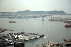 View from Busan Tower, Busan, Korean Republic Royalty Free Stock Photography