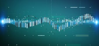 Business stock exchange trading data information isolated on a b. View of a Business stock exchange trading data information isolated on a background royalty free illustration