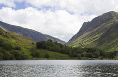 View of Buttermere. Royalty Free Stock Images