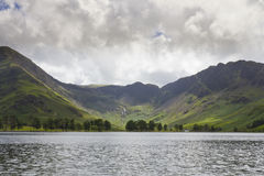 View of Buttermere. View of Lake Buttermere, English Lake District. Cumbria, England, UK stock image