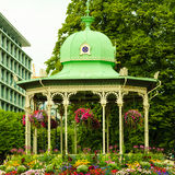 View of Byparken in city Bergen on July 25, 2014 in Norway Stock Images