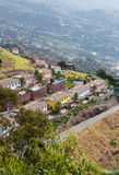 View from Cabo Girao in Madeira Royalty Free Stock Photos