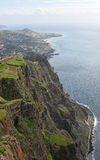 View from Cabo Girao in Madeira, Portugal Stock Images
