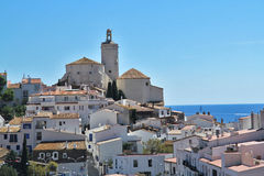 View of Cadaques, Costa Brava, Girona, Stock Photos
