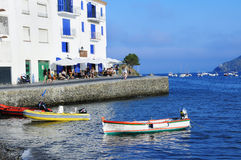 View of Cadaques, Spain Royalty Free Stock Images