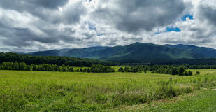 View from Cades Cove in Great Smoky Mountains National Park Stock Photography